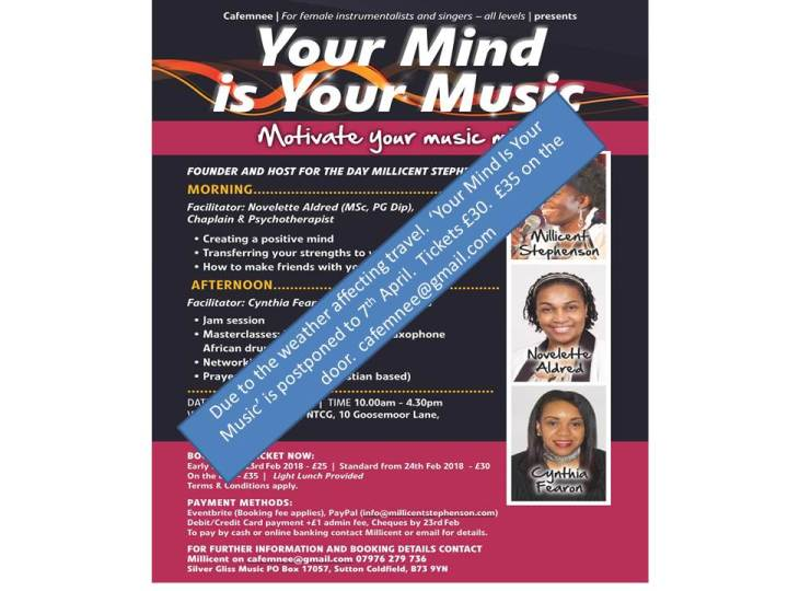 Your Mind Is Your Music Postpone Slide