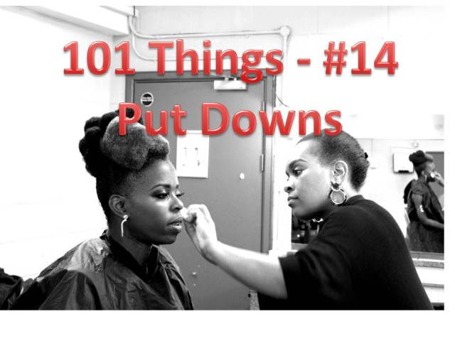 101Things 14 Put Downs