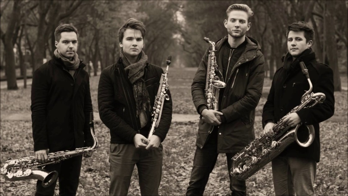 Polish sax quartet The Whoop Group