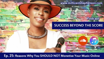 Reasons why you should not monetise your music online