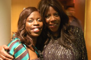 Millicent with Jaki Graham (Singer & UK Top 20 hits. She rocks!)