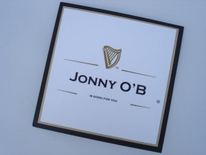 Guinness Birthday Card