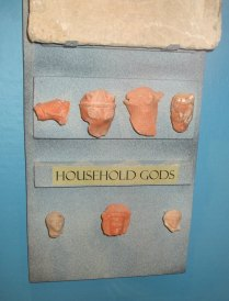 Fragments of household gods
