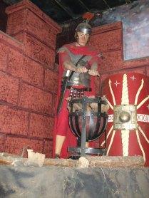 Model soldier at Dewa Museum