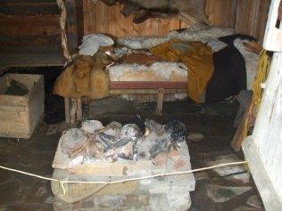 074 Inside hut 3