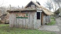 320 Decorated hut