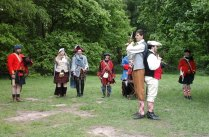 Scots Reenactment Group Duelling for Honour