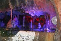 Stalactites and Stalagmites - Cox's Cave + R