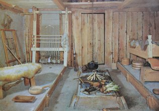 Inside a Viking home