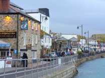 St Ives harbour front Cornwall, March 2009. Author: Char. Originally posted on Flickr and uploaded to Creative Commons