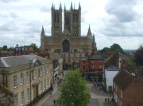 Lincoln Cathedral from the Wall Walk
