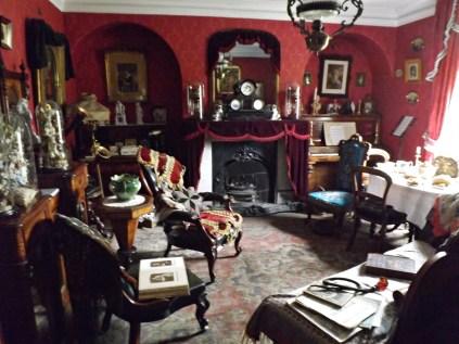 Inside the music teacher's house