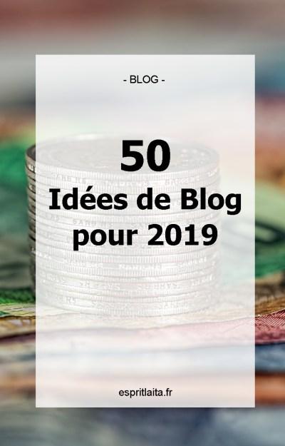50 Idees De Blog Pour 2019 Milliflora