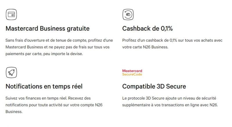 avis et test N26 Business