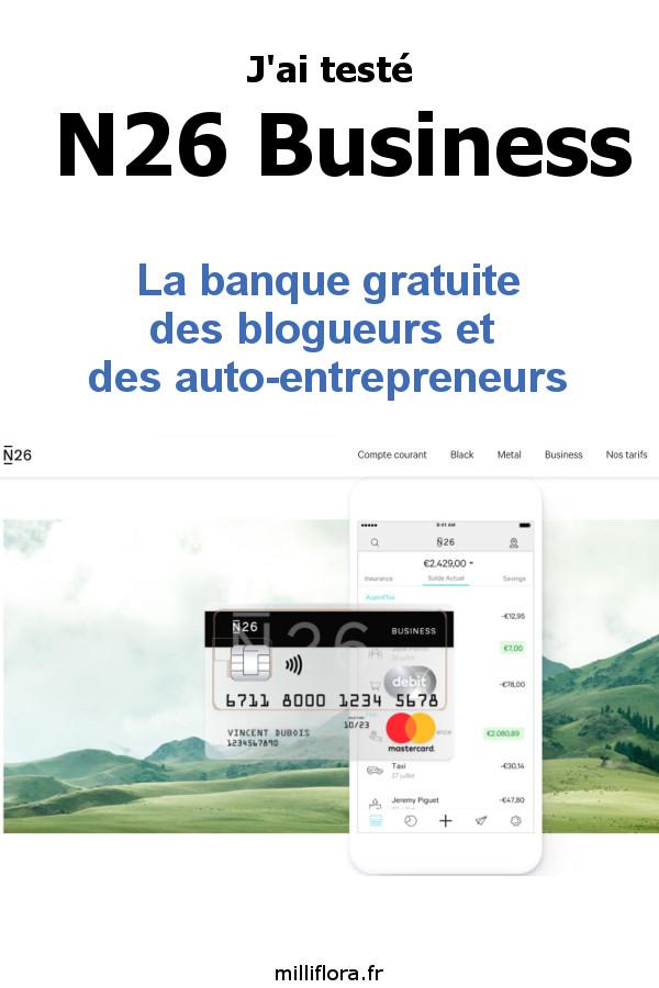 Avis et test N26 Business - Choisir une néo banque en ligne