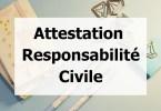 attestation responsabilité civile