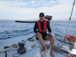 We passed Gibraltar at night doing 10+ knots and in the early morning top 13.7 knots with two reafs in the main