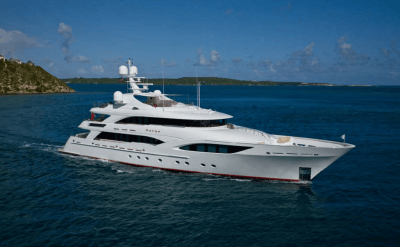 Private Charters of a 150' Katya Luxury Motor Yacht