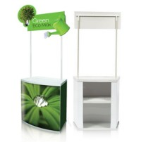 PVC Counter booth