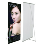 L Banner Stand