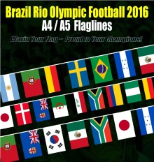 Brasil Rio Olympic Flagline