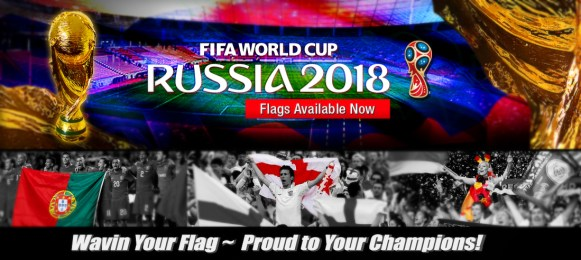 Russia Worldcup flag flagline 2018