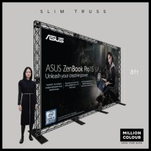Slim Mini Truss Backdrop 8ft