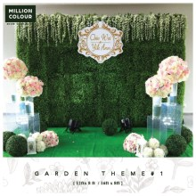 Garden Wedding Backdrop Rent Malaysia