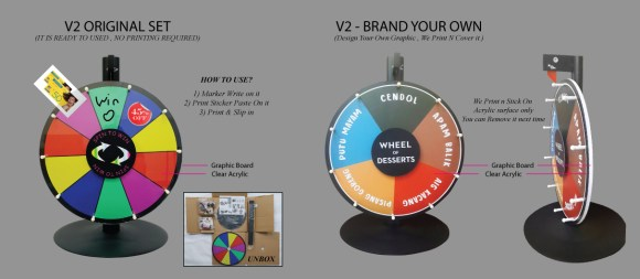 Fortune Wheel Stand Malaysia MillionColour Supply