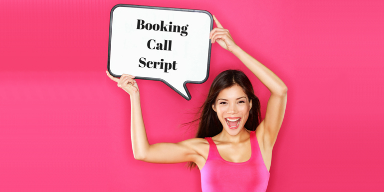 More Customers in 30 Days: Killer Booking Call Script