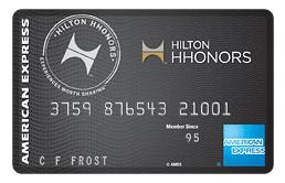 American Express Hilton Surpass Credit Card