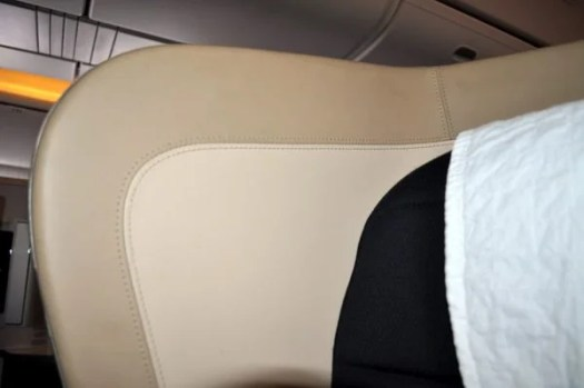 British Airways First Class Review - Seats