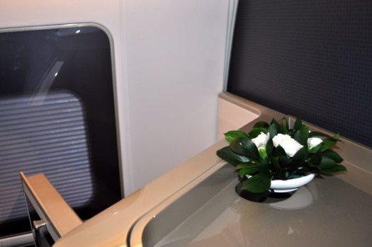 British Airways First Class Review - Flower