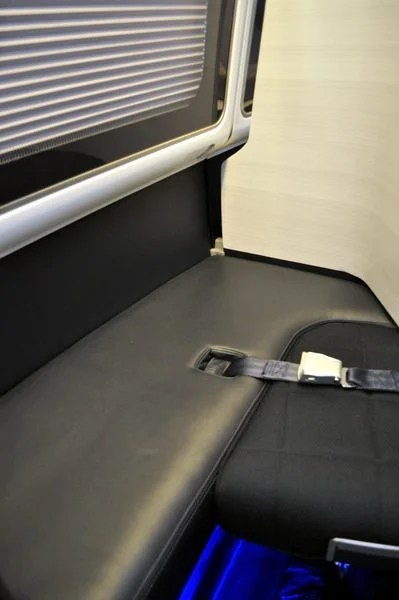 British Airways First Class Review - More Leather