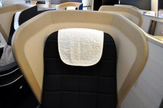 British Airways First Class Review - Seat