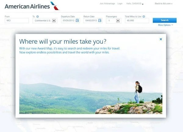 How to See Where Your American Airlines Miles Can Take You