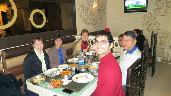 Eating in Delhi
