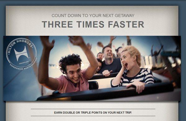 Hilton HHonors Triple Your Trips Promotion