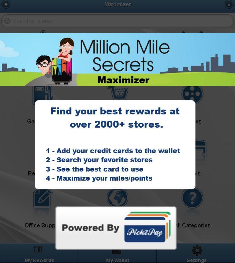 Maximize Your Miles With The Million Mile Secrets Shopping Maximizer