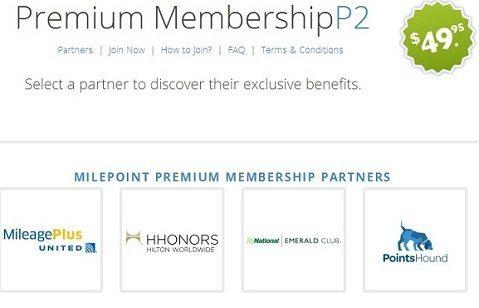 MilePoint Premium Membership