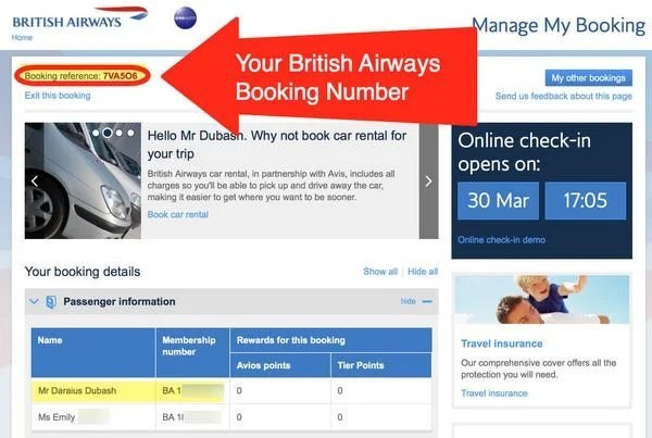 How & Why You Should Add Your American Airlines Frequent Flyer Number To A British Airways Avios Booking