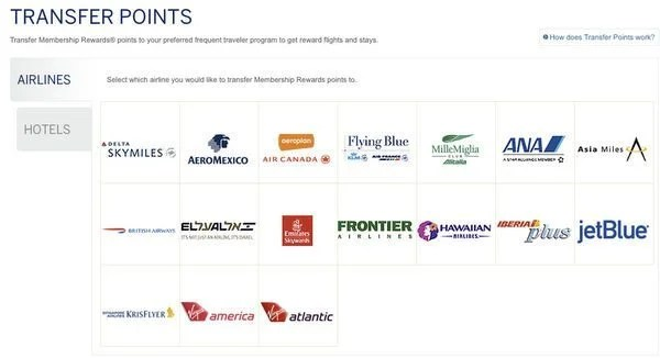A Big Change to American Express Membership Rewards Points Transfer Policy for US Cardholders