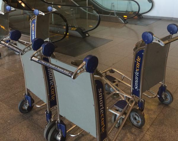 The Secret to Saving Money on Airport Luggage Carts