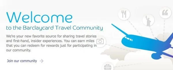 She Says He Says 500 Barclays Miles With Barclaycard Travel Community Sign Up