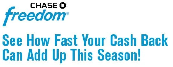 Start Earning 5X Points 5 Cash Back Today At Gas Stations And Kohls With Chase Freedom