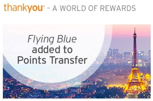 Credit Cards That Earn Citi ThankYou Points And Now Transfer To Flying Blue And 8 Other Airlines