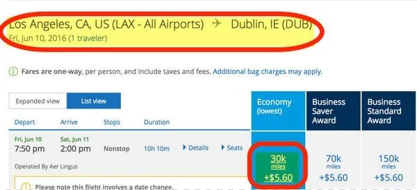 3 New Ways To Ireland With Miles Points