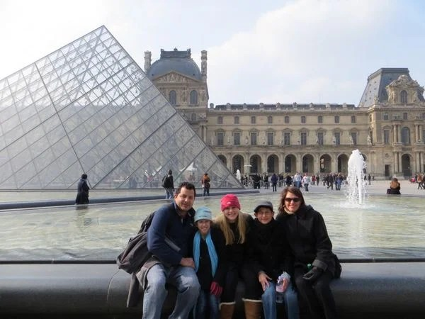 Success A Family Of 5 Took A Miles Points Vacation To Paris