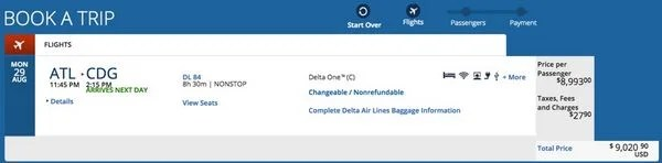 How To Use The AMEX Delta 60,000 Point Bonus To Europe