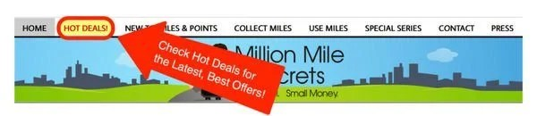 New To Million Mile Secrets I'll Show You How To Use The Site